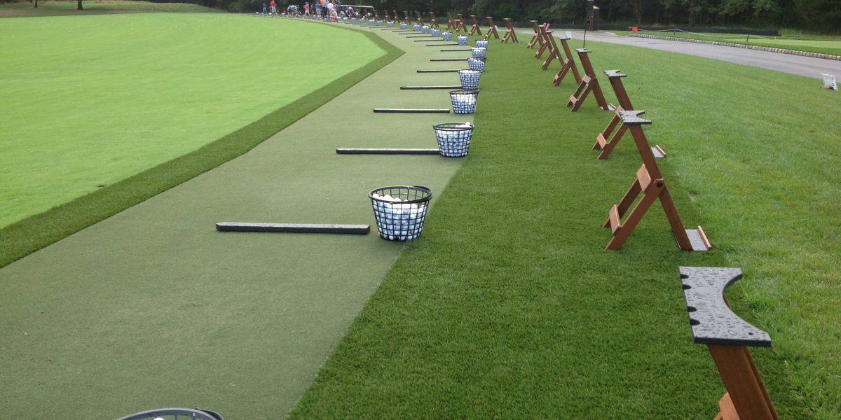 Synthetic Turf International EZTee Tee Line Hitting Mat Artificial Grass STI